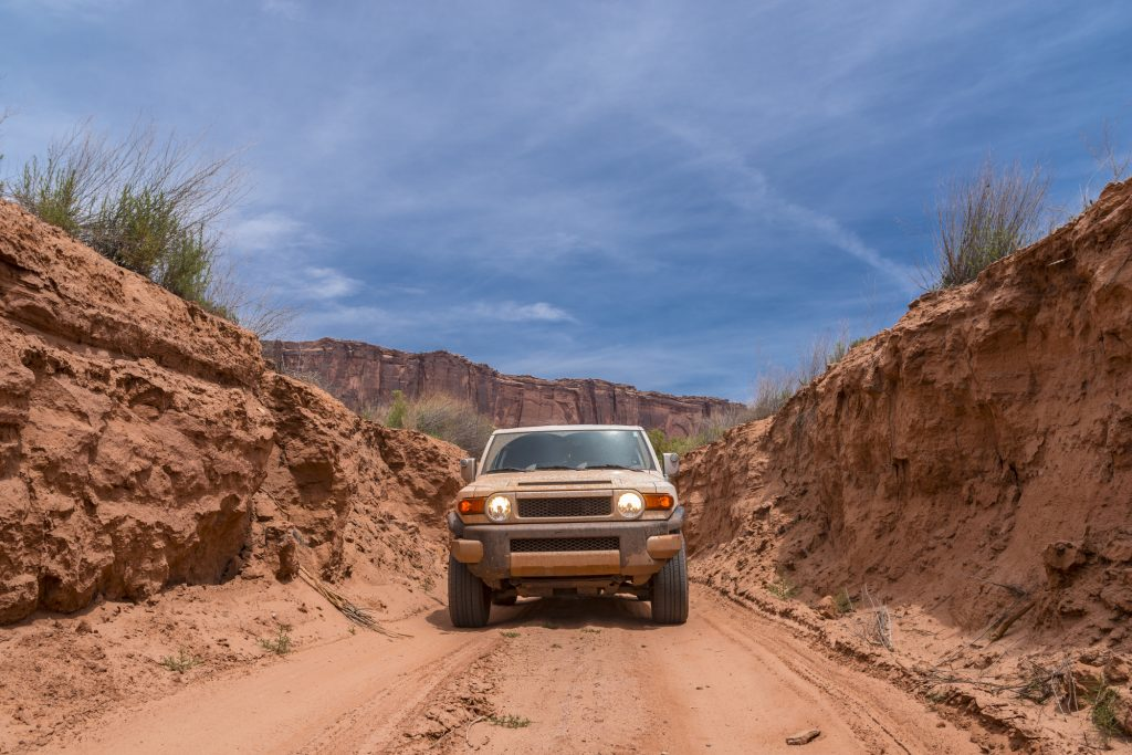 off-roading trails