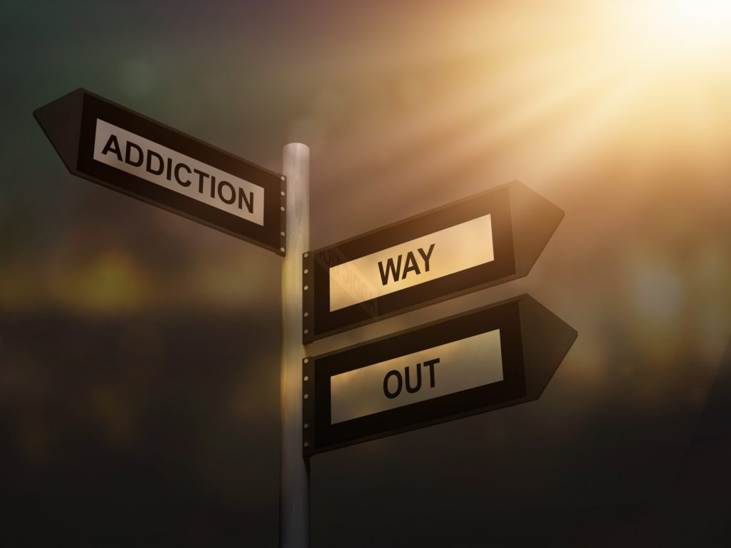 way out addiction signs